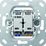Gira 012200 Push Button Switch 2-Pin for Control Unit by Gira