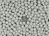 10 Lbs. 10 mm Polishing Sphere Ceramic Porcelain Tumbling Tumbler Media White