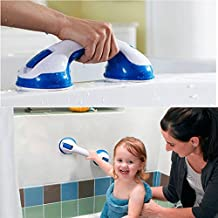 Shower Handle Bar Offers Safe Grip with Strong Hold Suction Cup for Safety Grab in Bathroom ,Tub , Shower , Toilet Handrail Bath Aids to Assist Elderlies and Toddlers
