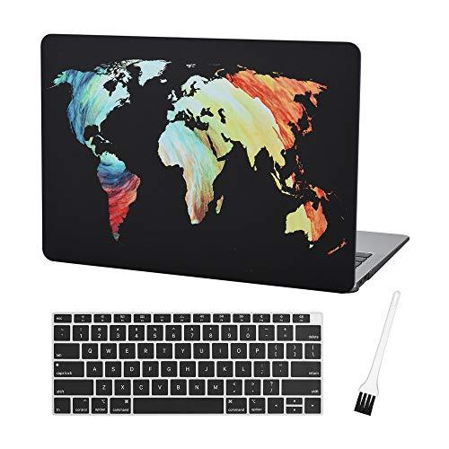 MacBook Keyboard Plastic Silicon Pattern Black