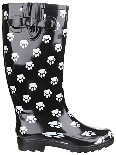 Femme Cotswold Collection Dog Paw Multicolore Bottes nrIUrca
