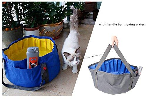 Yaagle Waterproof Foldable Portable Pet Dog Cat Swimming