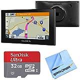 Garmin 010-01535-00 RV 660LMT Automotive GPS 32GB MicroSDHC Memory Card Bundle includes Garmin RV 660LMT GPS, Sandisk 32GB microSDHC Memory Card and Beach Camera Microfiber Cloth