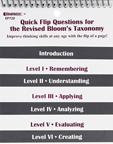 Quick Flip Questions for the Revised Bloom's Taxonomy by Linda G. Barton (2007-01-01)