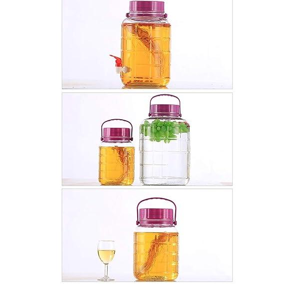 Jian E Wine Barrel-enzima Barrel Botella de Vino elaborada Bayberry ...
