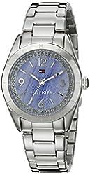 Tommy Hilfiger Women's 1781551 Casual Sport Analog Display Quartz Silver Watch