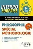 Interro Surprise Philosophie Spécial Méthodologie Tles Toutes Séries