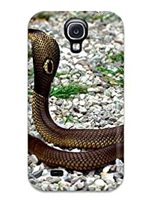 2015 1274992K23554919 Snap On Case Cover Skin For Galaxy S4(snake)