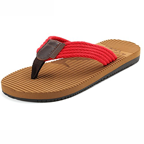 XIAOLIN Zapatillas de deporte de verano con suela gruesa de hombre Zapatillas de deporte con suela de antideslizante de Inglaterra Trend (tamaño opcional) ( Color : 01 , Tamaño : EU40/UK7/CN41 ) 04