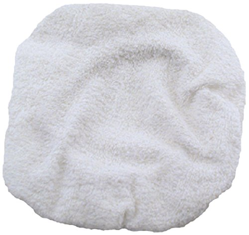 Enkay 188  8-Inch Terry Cloth Bonnet, Poly Bag
