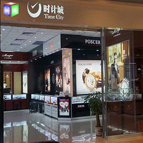 27X40 Inches Illuminated Aluminum Backlit Poster Frame Light Box LED Backlit Movie Advertising Picture Frame