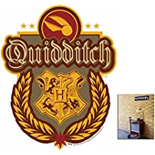 Fan Pack - Quidditch Crest from Harry Potter Wall Mounted Cardboard Cutout - Includes 8x10 Star Photo