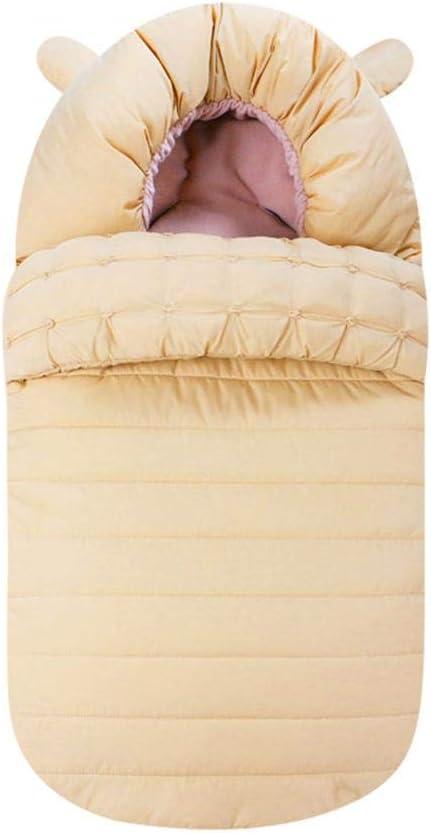 3-18 meses Saco de dormir para bebés Edredón recién nacido engrosado Manta de algodón para bebé Saco de dormir para cochecito portátil Manta para cochecito portátil para niños pequeños: Amazon.es: Bebé