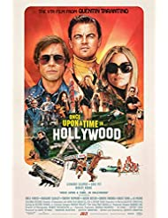 """ONCE UPON A TIME IN HOLLYWOOD 27""""x40"""" S/S Original Movie Poster One Sheet 2019 Quentin Tarantino Brad Pitt Leonardo DiCaprio"""