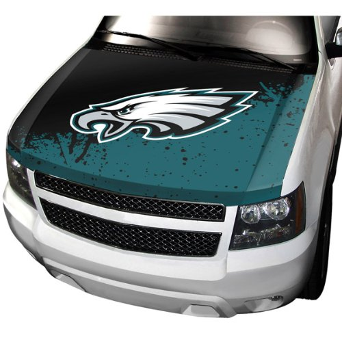 NFL Philadelphia Eagles Hood Cover, Teal, Stadard Size