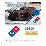 Dominos Pizza Birthday Gift Cards - E-mail Delivery