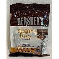 Hershey's Sugar Free Caramel Filled Chocolates - 85 gm