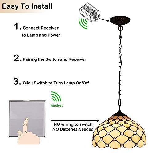 Astonishing Thinkbee Wireless Lights Switch Kit No Wiring No Battery Import Wiring Cloud Hisonuggs Outletorg