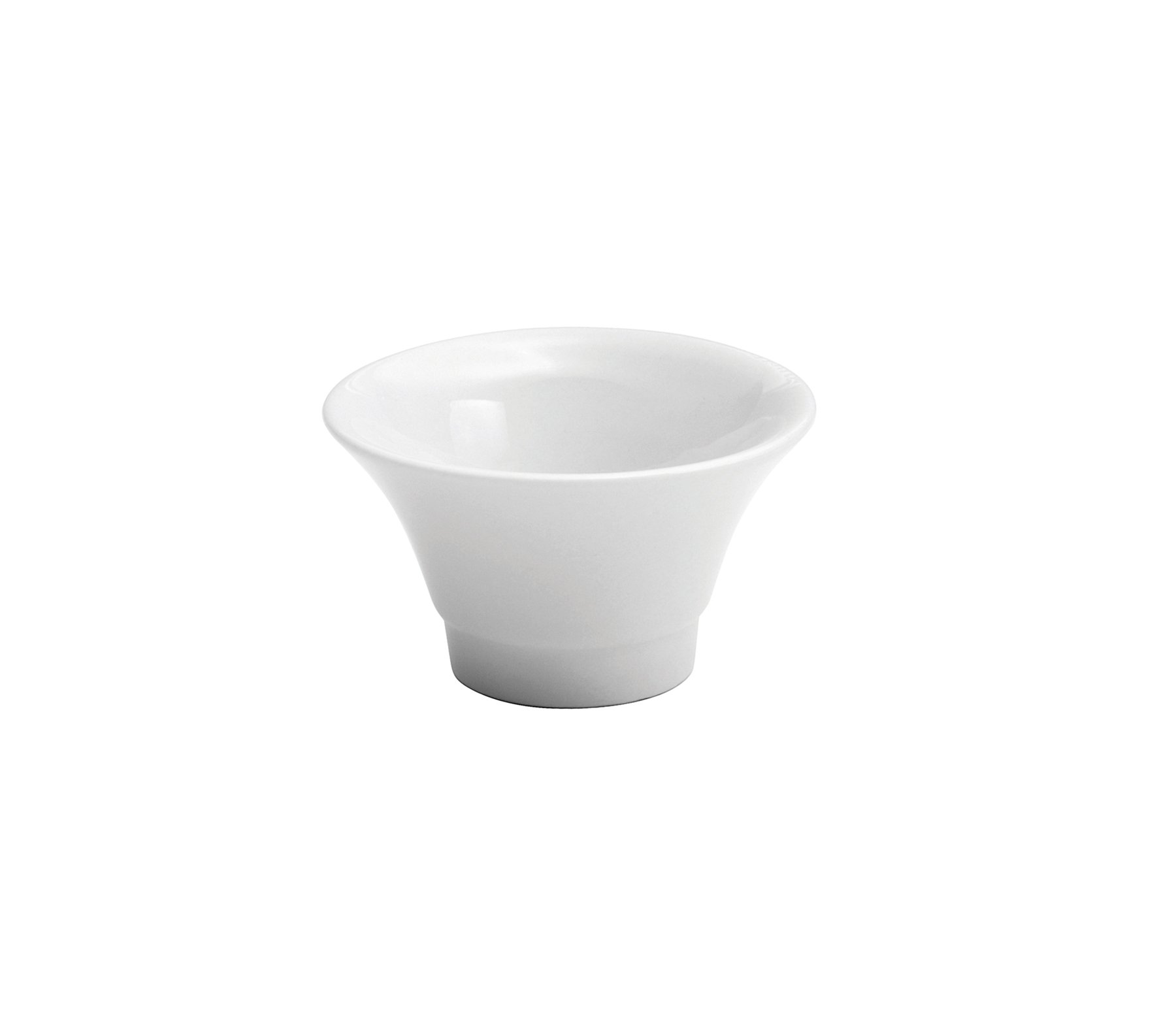 Oneida Foodservice F8010000952 Bright White Sauce Dish (Set of 72)