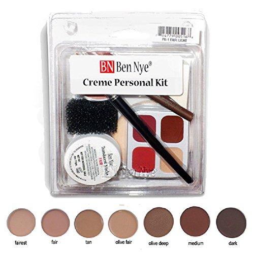 Ben Nye Theatrical Creme Personal Kit Pk-6