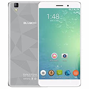 BLUBOO Maya 3G WCDMA Smartphone Android 6.0 5.5 inch HD Screen 1280720 Pixels 64bit MTK6580A Quad-Core 1.3GHz 2GB+16GB 8.0MP+13.0MP Dual Cameras Cell Phone (Gray)