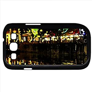 digitaldelivery - Watercolor style - Case Cover For Samsung Galaxy S3 i9300 (Black)