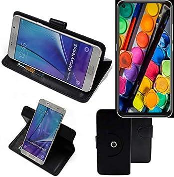 K-S-Trade® 360° Funda Smartphone para TCL PLEX, Negro | Función De ...