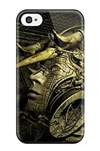 For Iphone 4/4s Premium Tpu Case Cover Surreal Art Protective Case