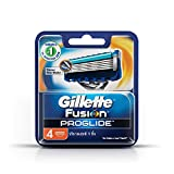 Gillette Fusion ProGlide Manual Men's Razor Blade Refills, 4 Count, Mens Razors/Blades
