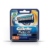 Gillette Fusion ProGlide Manual Men's Razor Blade Refills, 4 Count, Mens Razors / Blades