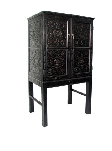 Charleston Benfu TV Armoire, Antique (Tv Armoire Furniture)
