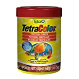 Tetra Tropical Colour Flakes, Fish Food with Natural Colour Enhancers, 28g