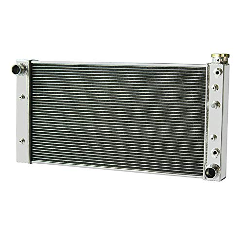 CoolingCare 2 Row Core Radiator for 1988-1994 Chevy S10 Blazer/GMC S15 Jimmy Sonoma 4.3L V6