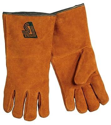Steiner 2119C Kevlar Side Split Cowhide Leather Welding Gloves