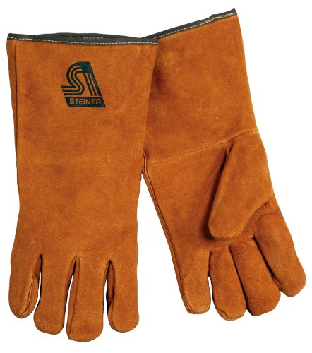 Steiner 2119C-XS Kevlar Side Split Cowhide Leather Welding Gloves, Extra Small by Steiner