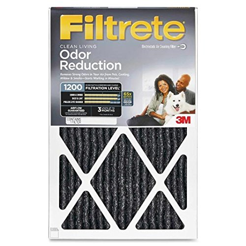 14x20 Filtrete Home Odor Reduction Filter (2 Pack)