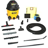 Shop-Vac 9622110 2.5-Peak Horsepower Industrial Wet/Dry Vacuum, 12-Gallon