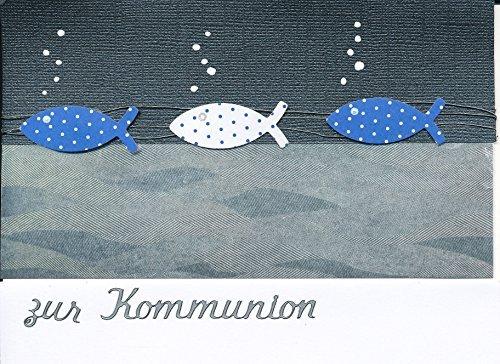 Einladungskarten Zur Kommunion Oder Konfirmation Zum Selbst Gestalten Für 8  Karten Inc. Zubehör + Umschlag Format C6: Amazon.de: Bürobedarf U0026  Schreibwaren