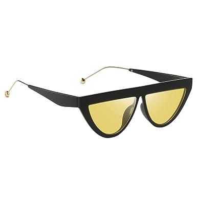 non-brand Triángulo Gafas de Sol Espejadas Gafas Lunares ...