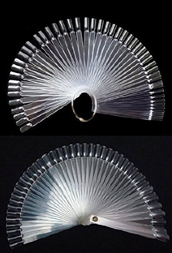 Beauticom Acrylic Holders Fan Shaped Practice