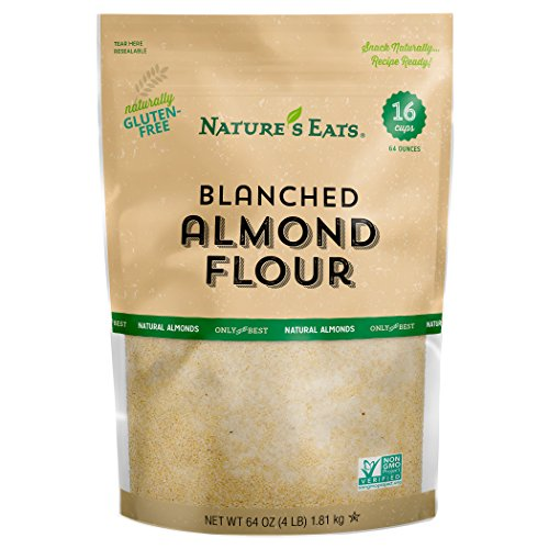 Nature's Eats Blanched Almond Flour, 64 Ounce (Low Carb Muffin Recipes Using Almond Flour)