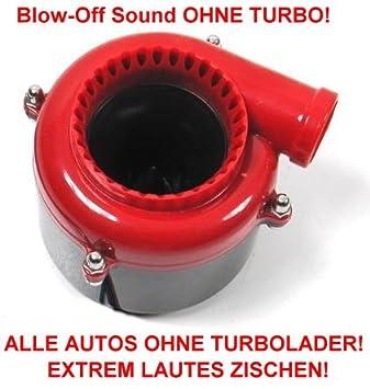 Simulador de turbo Blow Pop Off sin turbo para cualquier coche con motor de gasolina o Diesel: Amazon.es: Coche y moto