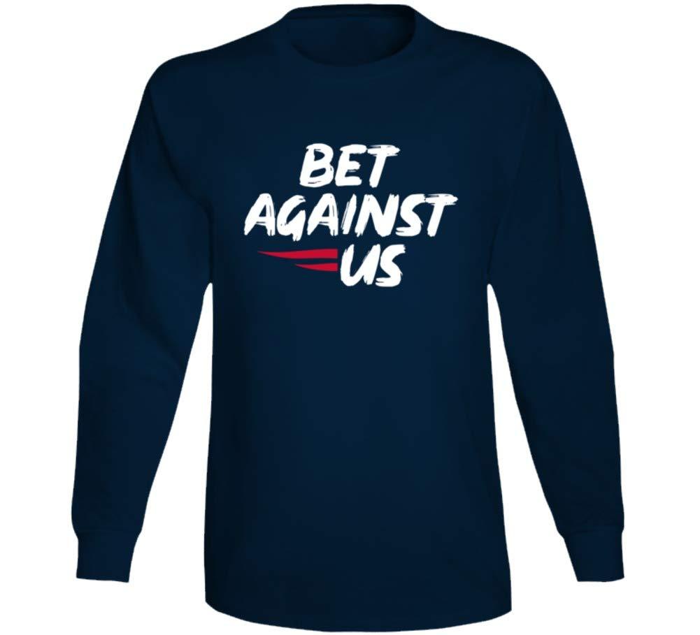 Bet Against Us New England P Football Fan T Shirt 7821
