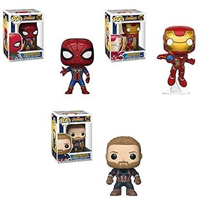 Amazon.com: Avengers: infinity Guerra Pop. Vinilo Figura Set ...