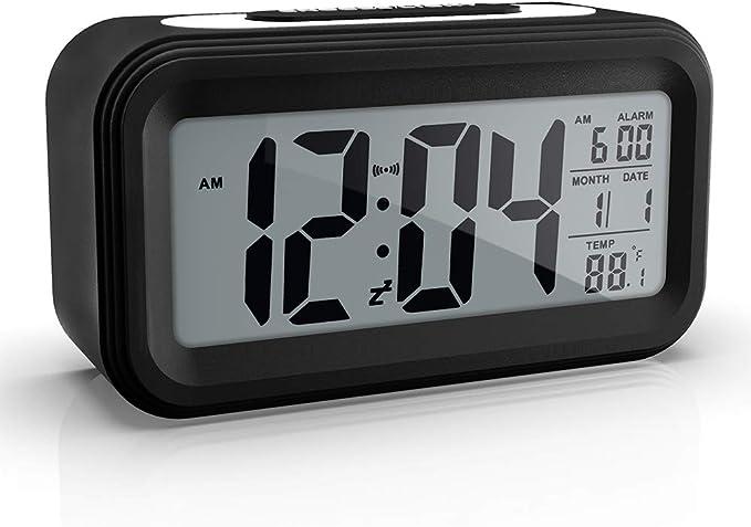 Xliu Plastic Battery Operated Digital Alarm