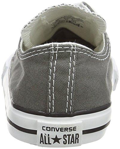 Converse Chuck Taylor All Star Seasonal Ox - Primeros Pasos de caucho Bebé - unisex gris - Gris (Anthracite)