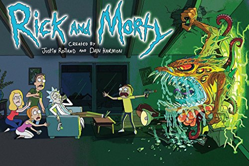 Rick & Morty Tv Show Poster 24x36 inches