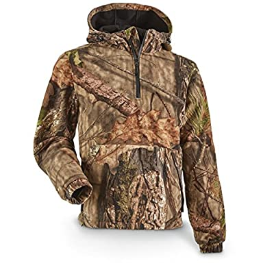 Guide Gear Men's Whist Pullover Hunting Jacket with W3 Fleece