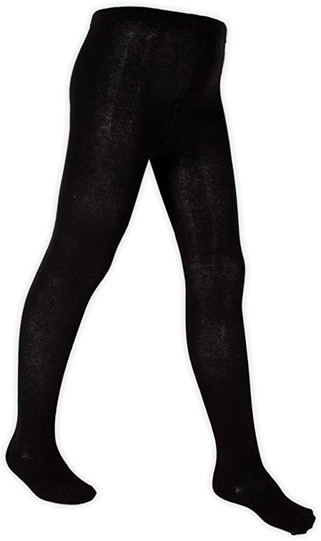 Girls School Lycra Uniform Tights Cotton Rich Grey Navy Black 5-6 7-8 9-10 Years