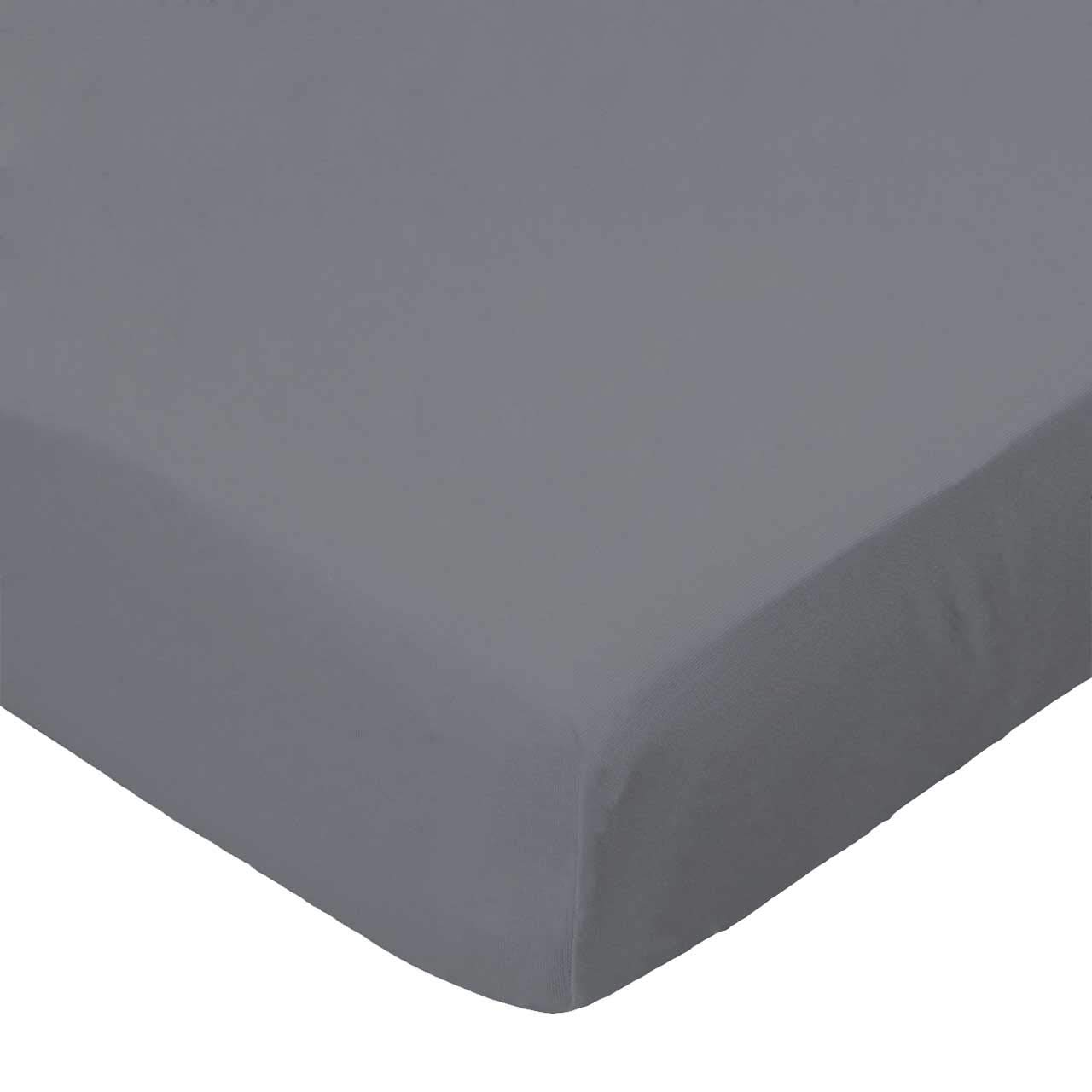 SheetWorld Fitted Cradle Sheet - Dark Grey Woven - Made In USA by SHEETWORLD.COM